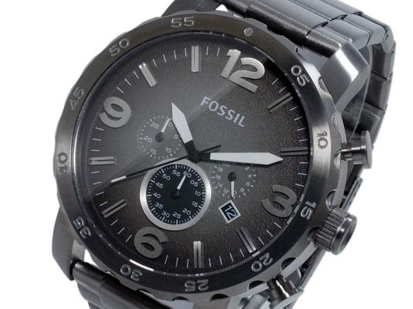 フォッシル FOSSIL ネイト NATE クオーツ クロノ メンズ 腕時計 時計 JR1437【楽ギフ_包装】