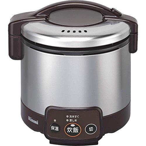 リンナイ ガス炊飯器 こがまる RR-030VM(DB) LP 【プロパンガス(LPガス)】 3合炊き(代引不可)【送料無料】【smtb-f】