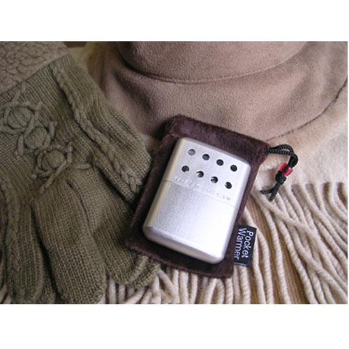 ポケットウォーマーKPW210(オイル給油式 携帯用カイロ)日本製 シルバー/20点入り(代引き不可)