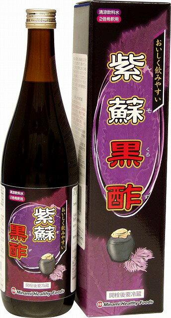 紫蘇黒酢720ml(日本製) /12点入り(代引���)