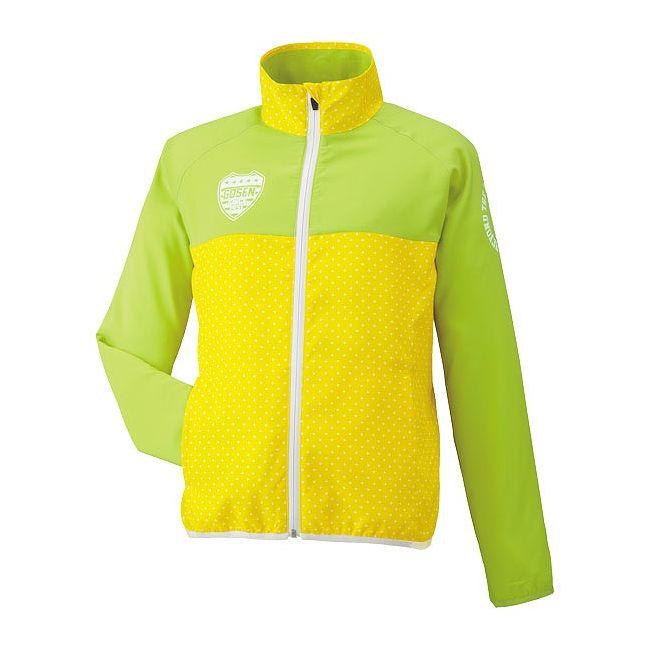 期間限定SALE GOSEN(ゴーセン) レディースライトウィンドジャケット UY1501 【カラー】イエロー 【サイズ】XL