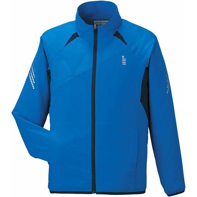 海外限定 GOSEN(ゴーセン) Y1600 ライトウィンドジャケット Y1600 【カラー】ブルー 【サイズ】M
