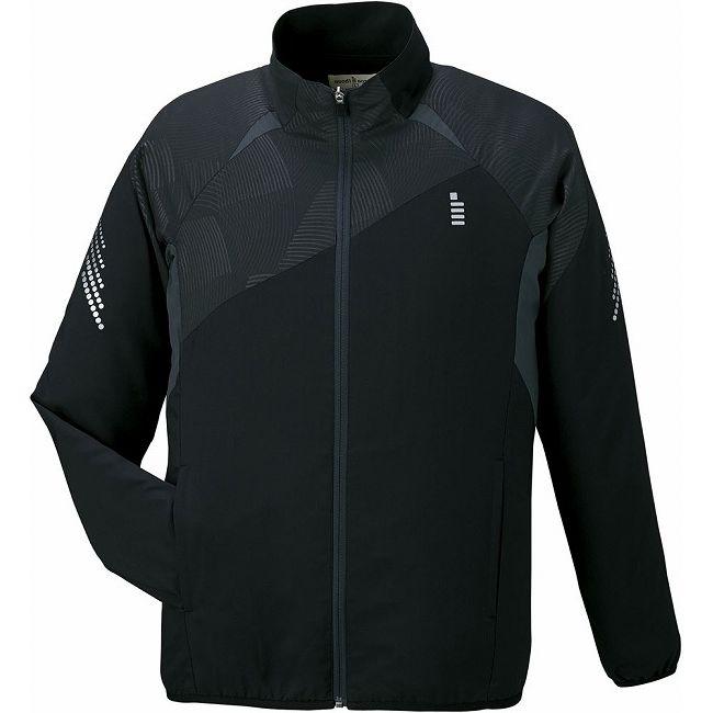 爆安セール中 GOSEN(ゴーセン) Y1600 ライトウィンドジャケット Y1600 【カラー】ブラック 【サイズ】L