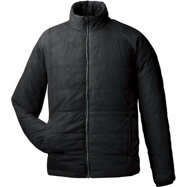今日超歓迎 GOSEN(ゴーセン) アイダーウォームスジャケット Y1612 【カラー】ブラック 【サイズ】L【送料無料】【smtb-f】