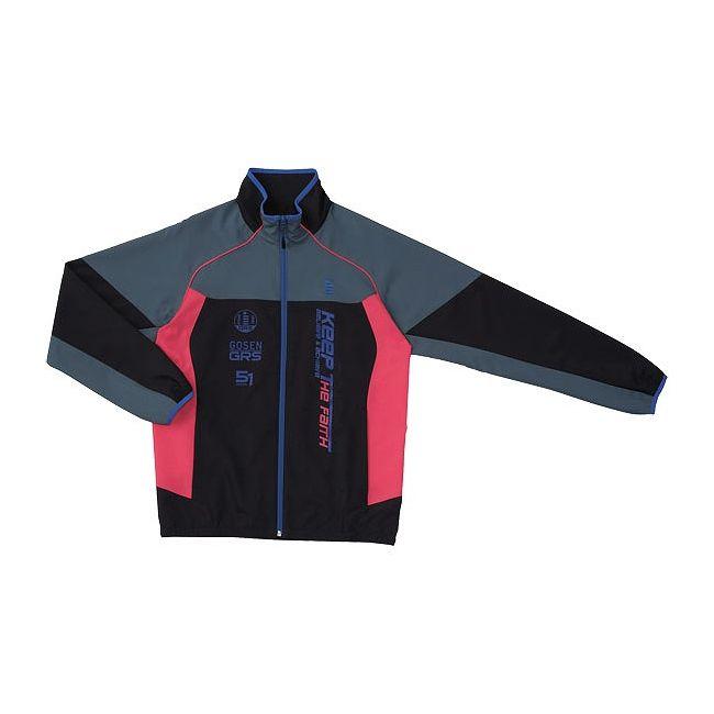 再入荷即納 GOSEN(ゴーセン) UY1400 ライトウィンドジャケット UY1400 【カラー】ブラック 【サイズ】S
