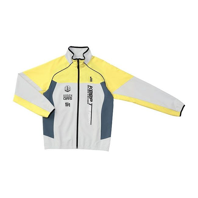 驚き価格 GOSEN(ゴーセン) UY1400 ライトウィンドジャケット UY1400 【カラー】レモンイエロー 【サイズ】L