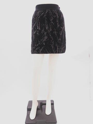 CHANEL/シャネル/スカート/ニット/ミニ/CC/ブラック/Sサイズ/サイズ34/送料無料【中古】