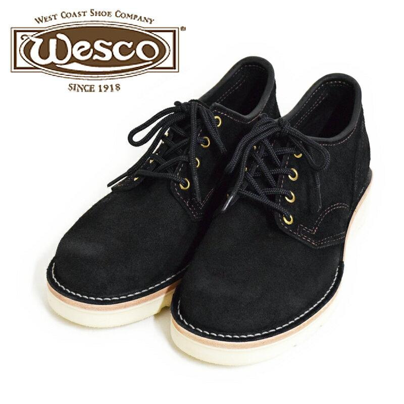 【Wesco/ウエスコ】JH CLASSICS/フルミッドソール/ブラックラフアウト/ホワイト ラプターソール・ナチュラルエッジ/Regular Toe (※7.5E在庫あり)★REAL DEAL