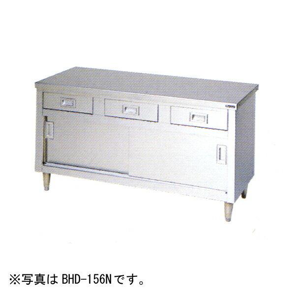マルゼン 引出し引戸付調理台(バックガードなし)1500×600×800 BHD-156N