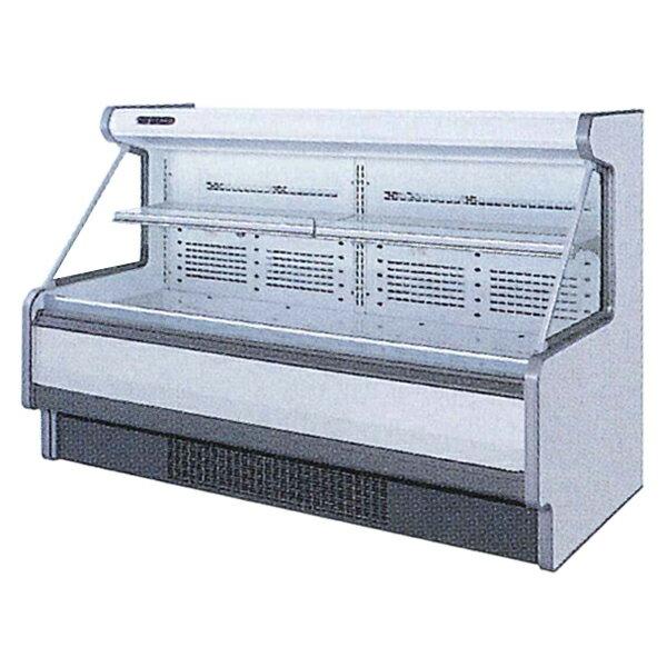 �島工業(フクシマ)低多段オープンショーケース(三相) �ルド冷蔵タイプ 500リットル幅1909×奥行1110×高�1250(mm)HMX-65RLTO1S