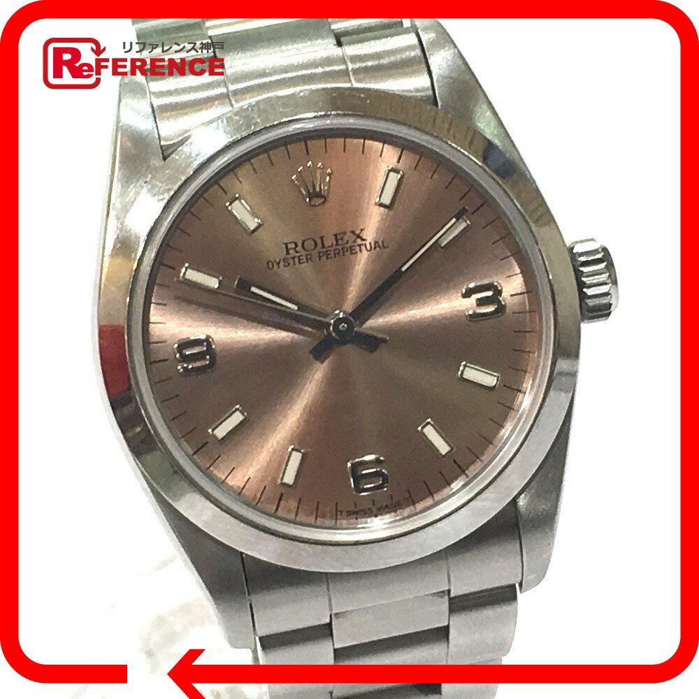 ROLEX ロレックス  67480 ボーイズ腕時計 オイスター パーペチュアル  腕時計 SS シルバー ボーイズ【中古】