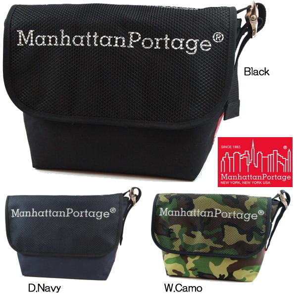 【ポイント10倍】マンハッタンポーテージ メッセンジャー バッグ Manhattan Portage ●