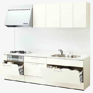 LIXILシステムキッチン リシェルI型 食洗機なし 奥行600 間口2400リリパのリフォームパック
