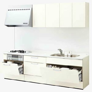 LIXILシステムキッチン リシェルI型 食洗機なし 奥行600 間口1950商品のみ