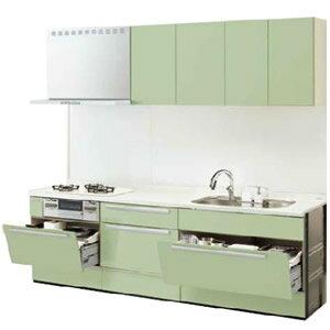 LIXILシステムキッチン リシェルI型 こだわり充実プラン 食洗機なし 奥行650 間口2700 扉グループ1リリパのリフォームパック