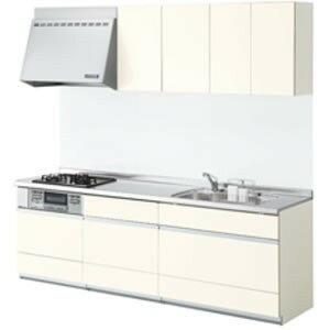 LIXILシステムキッチン シエラL型 食洗機なし 奥行650 間口2700×1650リリパのリフォームパック