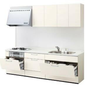 LIXILシステムキッチン シエラI型 アシストポケットプラン 食洗機なし 奥行650 間口2100 扉グループ1商品のみ