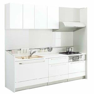 トクラスキッチン ベリーL型基本プラン 食洗機なし 間口2400mm コンロ側1800mm 扉シリーズE・C商品のみ