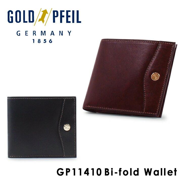 ゴールドファイル GOLDPFEIL 二つ折り財布 GP11410 OXFORD 【 札入れ メンズ レザー 】