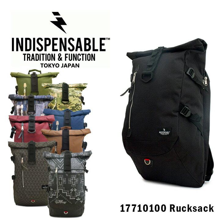 インディスペンサブル INDISPENSABLE リュック 17710100 ROLLS 【 デイパック バックパック リュックサック ロールトップ メンズ レディース 】