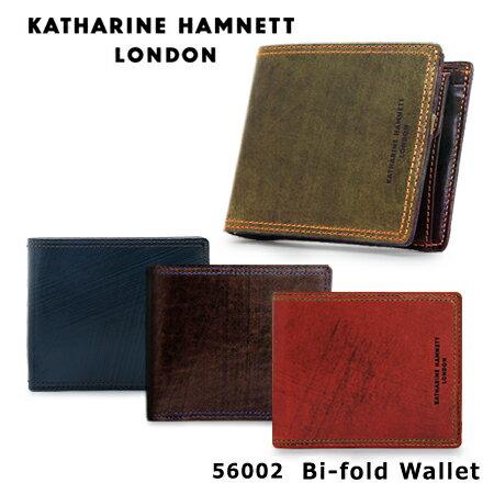 キャサリンハムネット 財布 490-56002 【 KATHARINE HAMNETT Taze ターゼ 】【 メンズ 二つ折り 小銭入れ 札入れ 革 レザー 】
