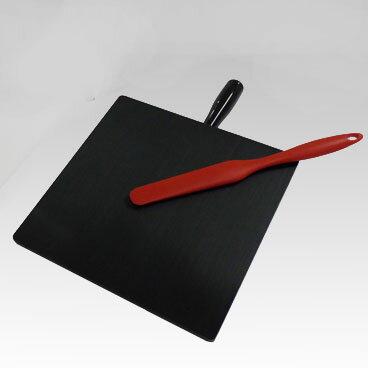 【送料無料】【代金引換不可】軟膏板(PE製) 黒 大 HN-300B