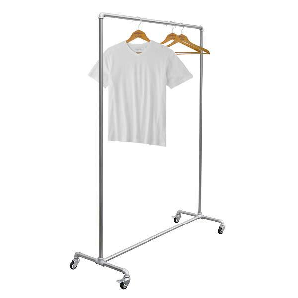 ガス管 コートハンガーラック Garments Rack 【M】 幅120×高165cm