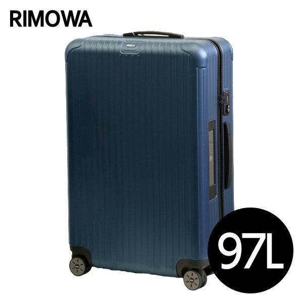 リモワ RIMOWA サルサ 97L マットブルー E-Tag SALSA ELECTRONIC TAG マルチホイール スーツケース 811.77.39.5