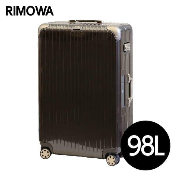 リモワ RIMOWA リンボ 98L グラナイトブラウン E-Tag LIMBO ELECTRONIC TAG マルチホイール スーツケース 882.77.33.5