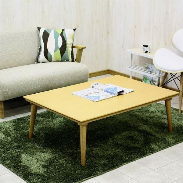 【カラー豊富】 こたつ コタツテーブル 長方形 幅105cm 北欧モダン コタツのみ