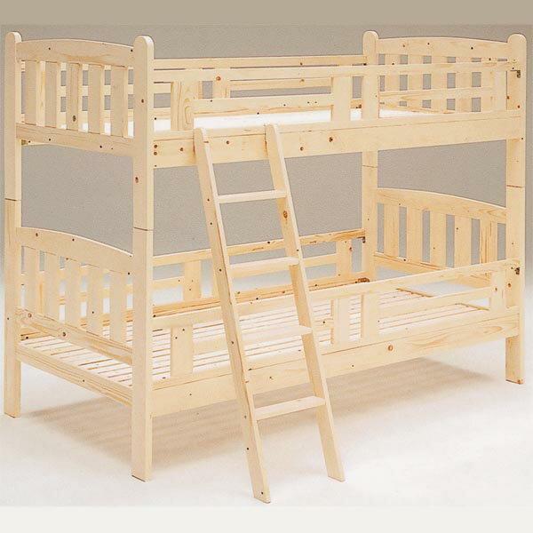 二段 ベッド 2段ベッド 2段ベット スノコ 木製 二段ベッド ナチュラル JUPITER