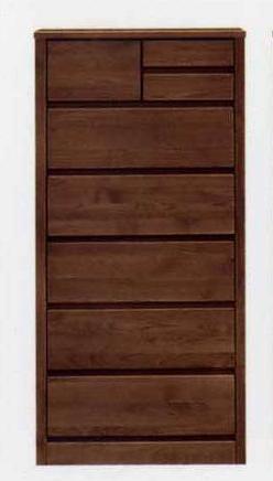 ハイチェスト/チェスト/整理ダンス/収納家具 木製 ティアラ 60-6ハイチェスト