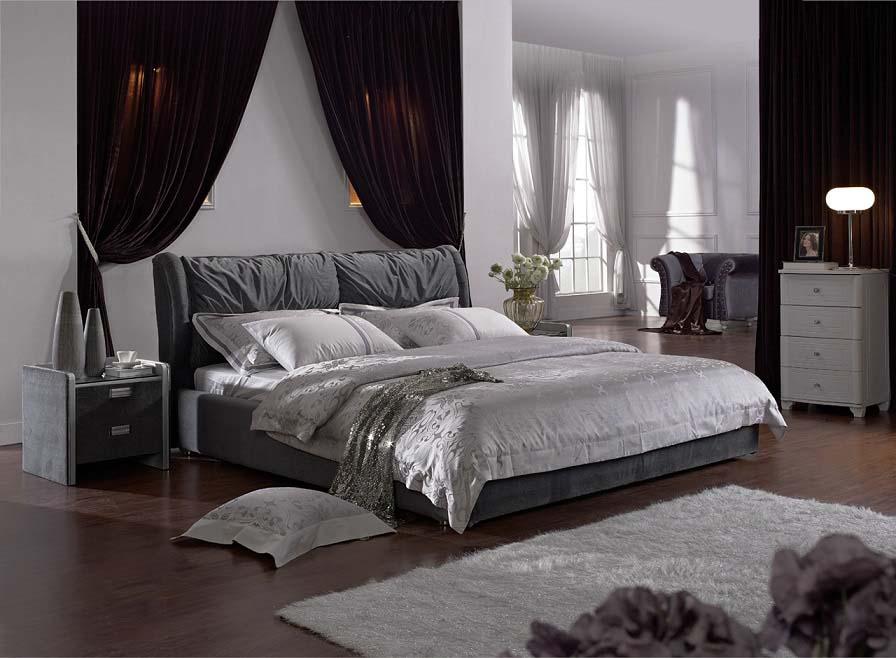 秋冬プルオーバー (1800×2000mm以下マットレス対応) 高級ベッド(マットレス別売り)