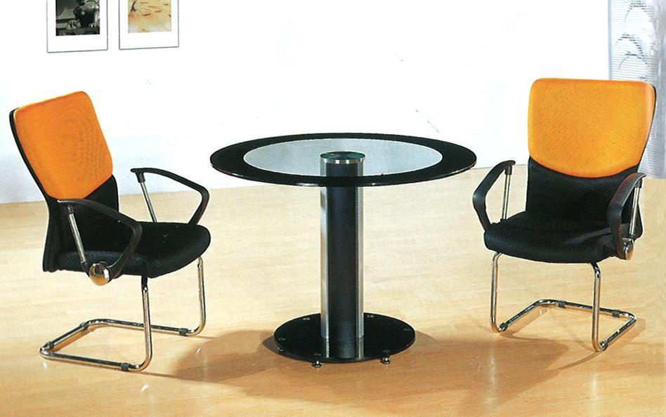 【輸入家具】会議テーブル・チェア3点セット