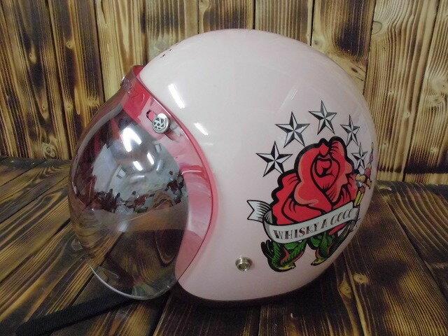 【値下げしました!】【中古】立花 フルフェイス ヘルメット ROCK SHM OLD SCHOOL ジェット バイク【サイズ M】