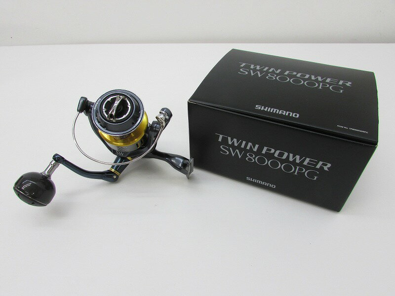 SHIMANO シマノ '15 ツインパワー SW8000PG  【中古】【リール】【金沢本店 併売品】【6200078Kz】