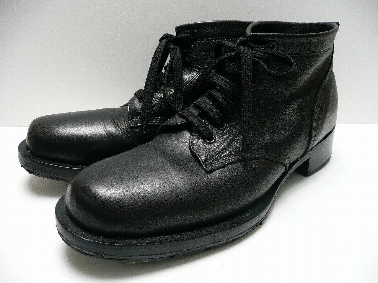 CABANE de zucca カバンドズッカ レースアップブーツ SIZE:M ブラック ワークブーツ 黒/ブラック メンズ  【中古】【その他靴】【金沢本店 併売品】【7600029Kz】