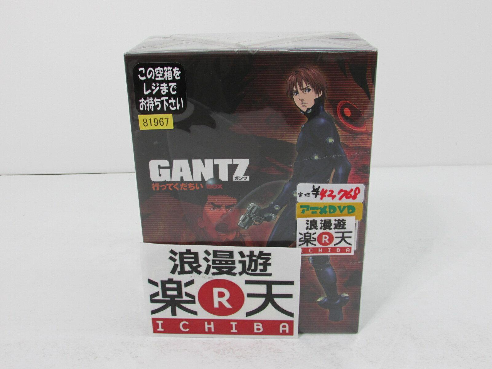 GANTZ ガンツ DVD BOX1.2セット 【中古】【アニメDVD・BD】【金沢本店 併売品】【600857Kz】