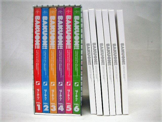 ばくおん!! DVD 全6巻 【Amazon全巻購入特典収納BOX付き】