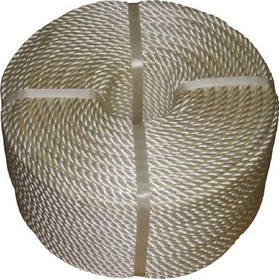 [367405]高木 JISナイロンロープ 9.0mm×200m[1巻入]【高木綱業(株)】(36-7405)
