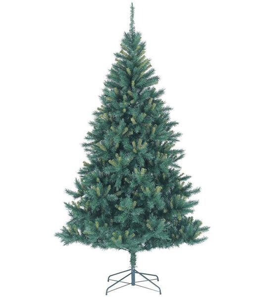 ★クリスマスツリー 270cm ツートーンナチュラルカットワイドツリー(ヒンジ方式) [PATR6961]