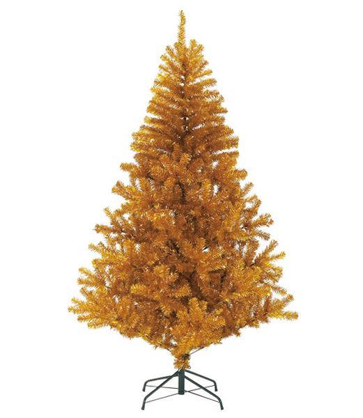 ★クリスマスツリー 180cm ゴールドノーブルパインワイドツリー(ヒンジ方式) [PATR6987]
