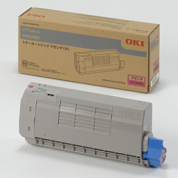 OKI トナーカートリッジ TC-C4CM2(マゼンタ大容量) 純正品