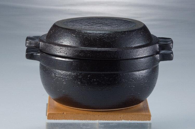 伊賀焼 多用鍋 男厨 陶敷板、トング、レシピつき 15772