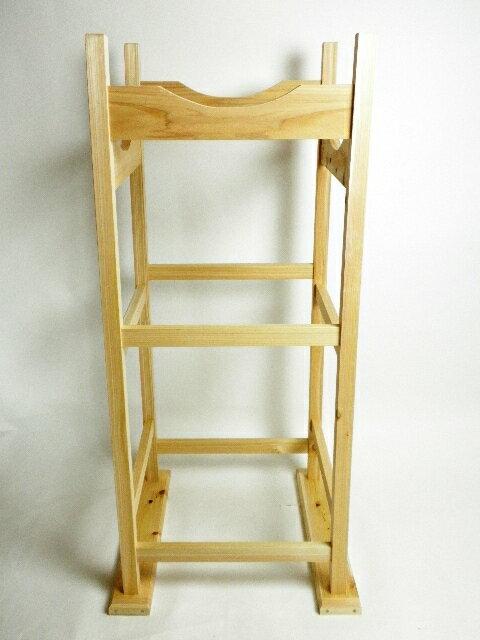 【弓道】【I-056】弓道 巻藁用木製台 二段式(まきわらようもくせいだい にだんしき)【RCP】