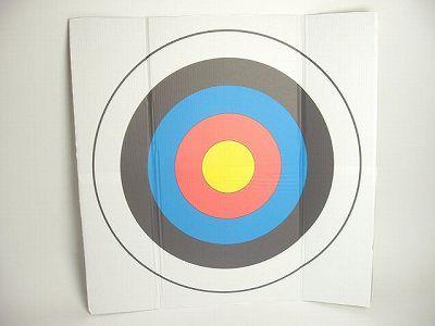【弓道】【遠的】【I-031】弓道 遠的用 カラー ダンボール10枚セット【RCP】