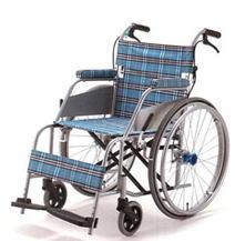 沸騰ブランド [片山車椅子製作所] KARL カール KW-901 (自走式・ドラムブレーキ付き)