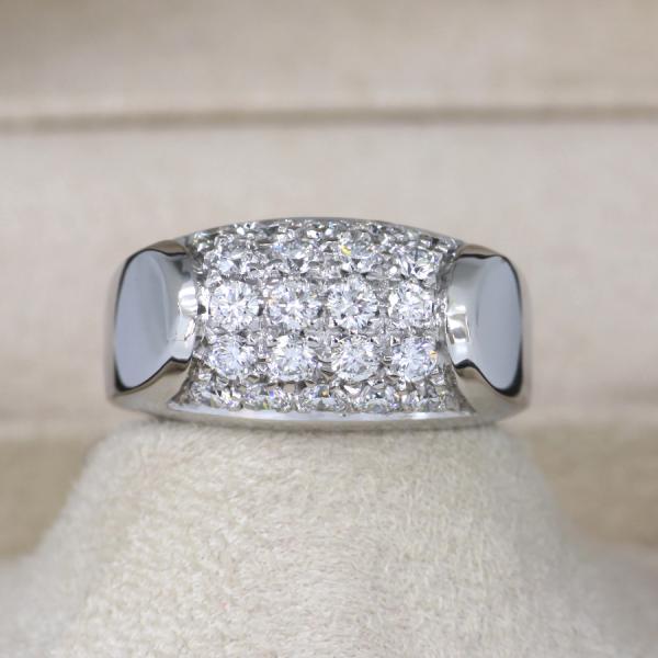 【送料無料】【中古】ブルガリ トロンケットリング/ダイヤモンド#10.5 【無料ギフトラッピング】【Aランク】