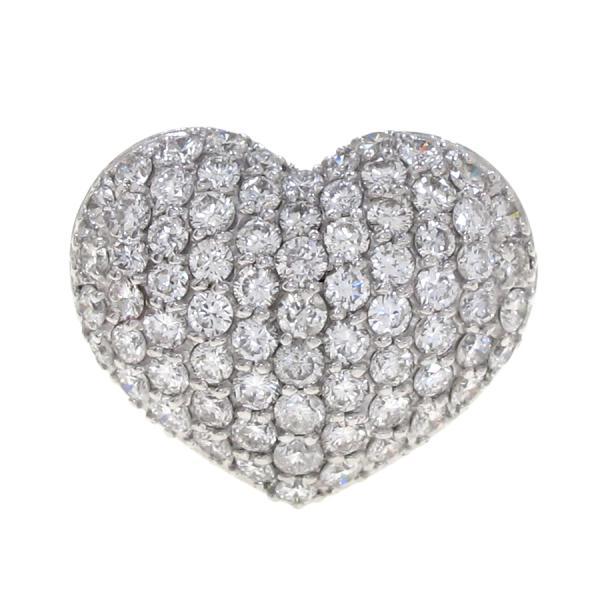 【送料無料】【中古】ポンテヴェキオ ダイヤハートリング#12.5 【無料ギフトラッピング】【Aランク】