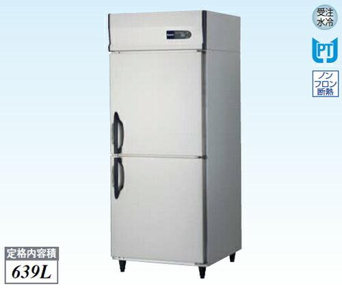 【新品・送料無料・代引不可】大和冷機 業務用 縦型冷凍庫 261LSS W750×D800×H1905(mm)